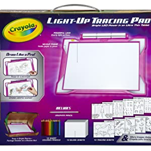 Crayola Light Up Tracing Pad Coloring Board For Kids Frachar Gifts