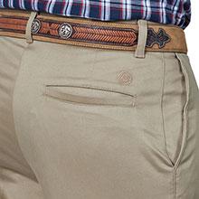 Wrangler Flat Front Casual Pant