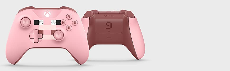 Xbox Wireless Controller Minecraft Pink LE