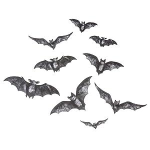 Spiral Bats Vinyl Window Car Decal