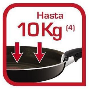 Resiste hasta 10 kg
