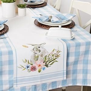 easter table runner,kitchen runner,spring table runner,tablerunner,easter tablecloth,placemats