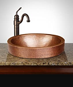 Monarchu0027s Premium Pure Copper Sinks Are Crafted With Exquisite Details That  Exude Luxury And Fine Living. The 17u201d Oval Hand Hammered Pure Copper Sinks  ...