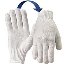 Product Knitted Poly Cotton Gloves 6 Werko