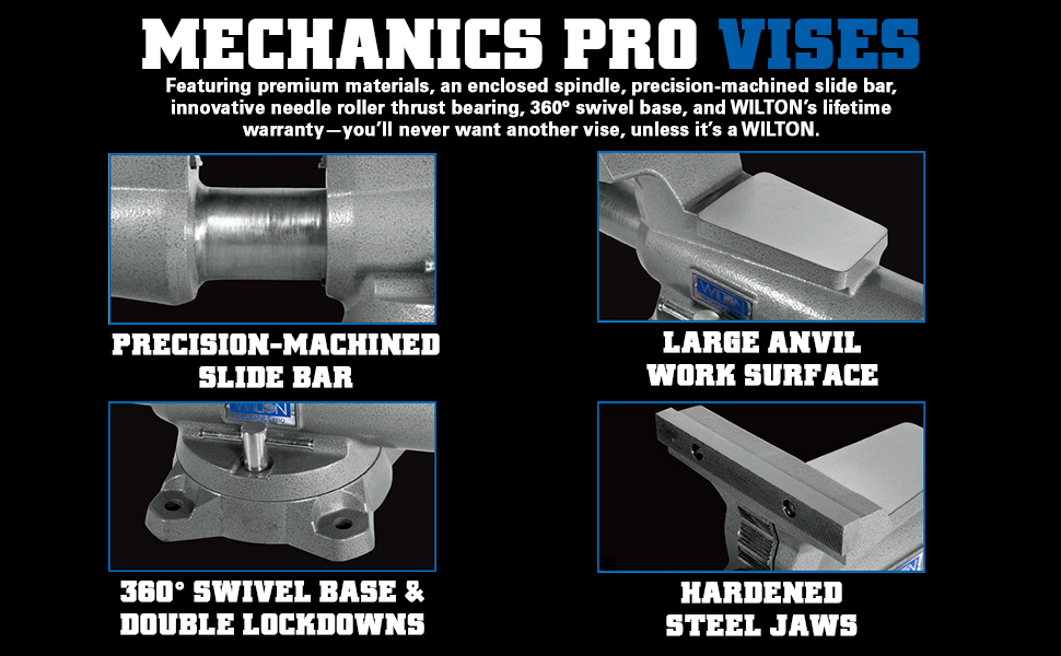 wilton mechanics pro bench vises