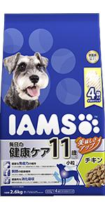 シニア犬用(11歳以上)毎日の健康ケア チキン小粒