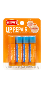 O'Keeffe's Lip Repair Cooling Relief and Uncented Lip Balm