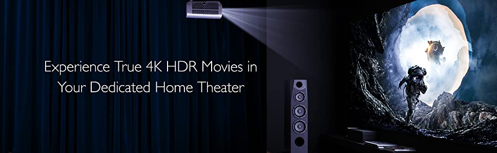 True 4K; HT3550; Dedicated Home Theater