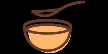 icon bowl spoon