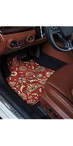 2005 Kia Optima Red Oriental Driver 2003 Passenger /& Rear Floor GGBAILEY D4752B-S2A-RD-IS Custom Fit Car Mats for 2001 2004 2002