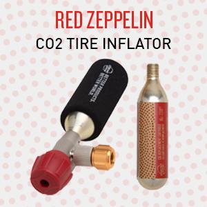 planet bike red zeppelin co2 inflator bike pump bicycle pump inflation flat kit portable pump