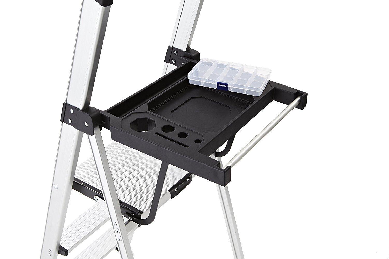 Rubbermaid Rma 3xst 3 Step Lightweight Aluminum Step Stool