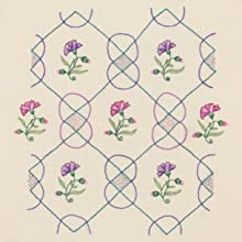 pattern. embroidery, flower, lines, repetition, colour, delicate
