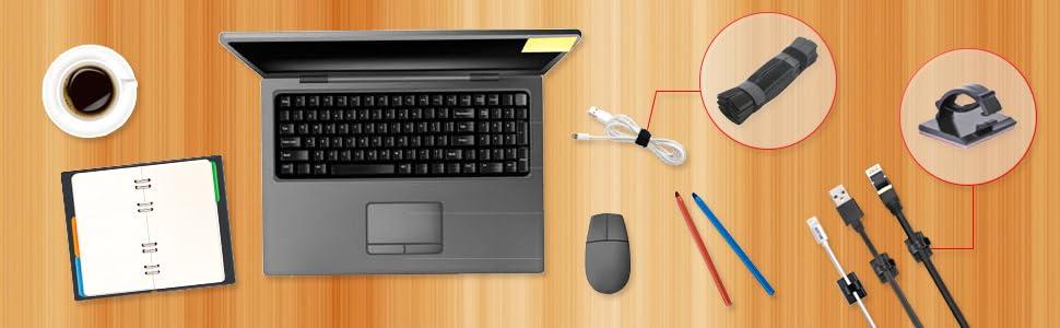 velcro 3m pc bureau collant électrique scratch inox noir