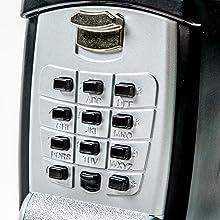 keyguard sl 590 punch button key storage wall mount lock. Black Bedroom Furniture Sets. Home Design Ideas