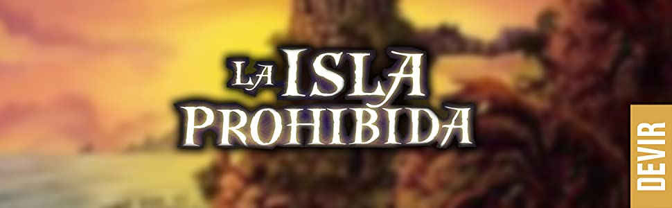 Devir-La Isla Prohibida Juego de Mesa, Multicolor (BGISLA): Amazon.es: Juguetes y juegos