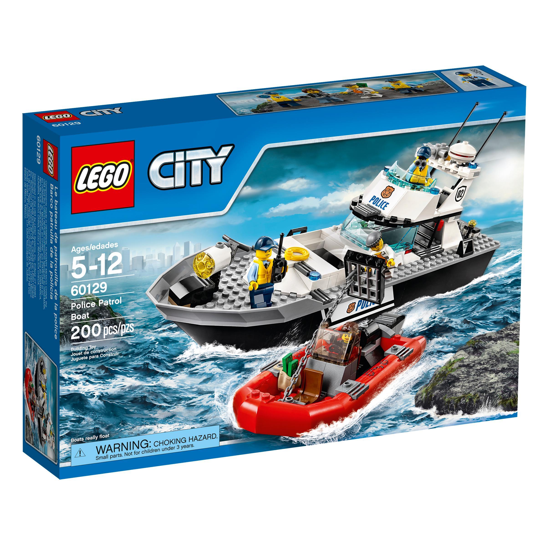 Amazon.com: LEGO City Police Patrol Boat 60129 Building