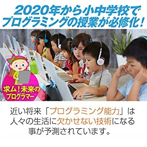 2020年 小中学校でプログラミング学習 必修化