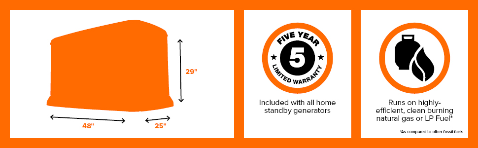 Generac, Standby, Generator, 24kW