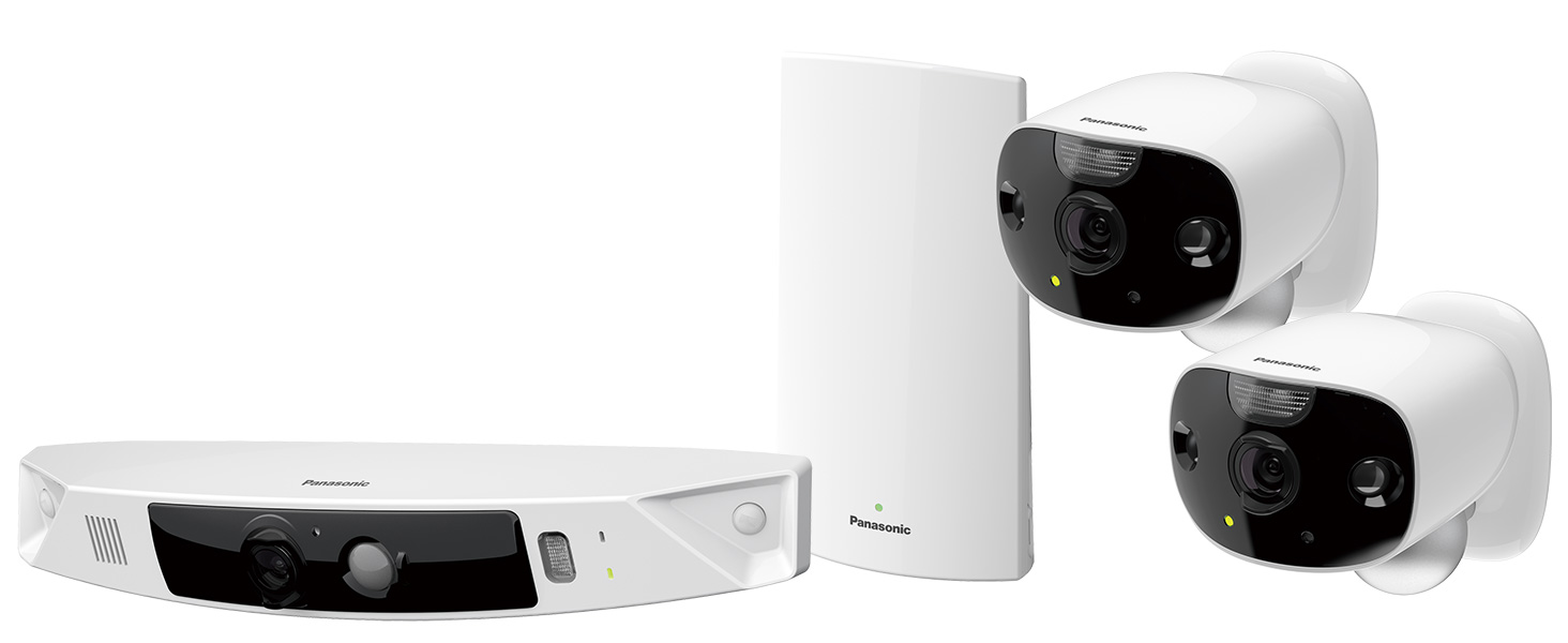 Panasonic HomeHawk Outdoor Home Monitoring Camera System - KX-HN7003W
