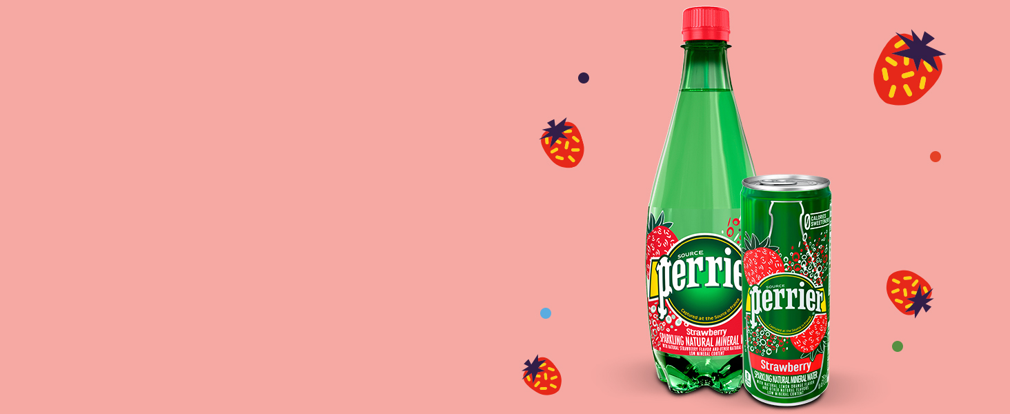 Perrier strawberry