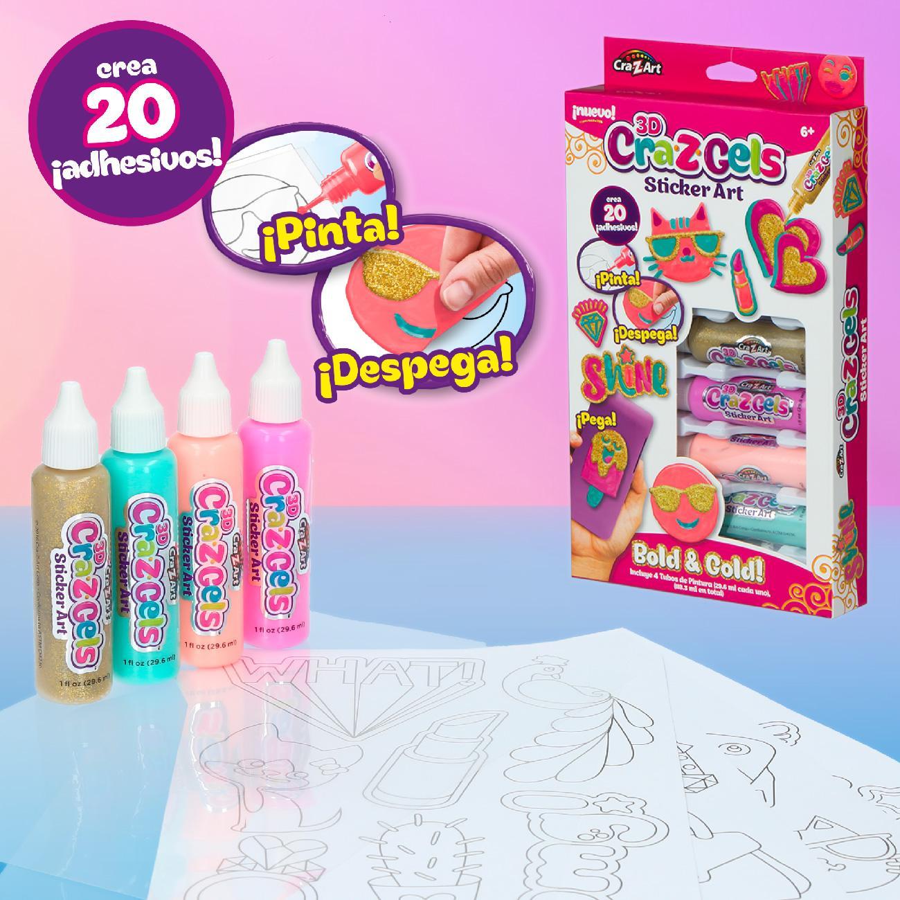 Cra-Z-Art - Geles decorativos 3D Cra(43922) , color/modelo surtido: Amazon.es: Juguetes y juegos