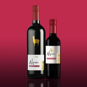 ワイン アルパカ サンタ・ヘレナ・アルパカ チリ 750ml カベルネ・メルロー カベルネ メルロー