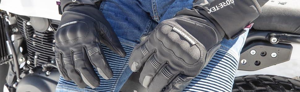 gants vquattro turismo evo 17 moto homologué route