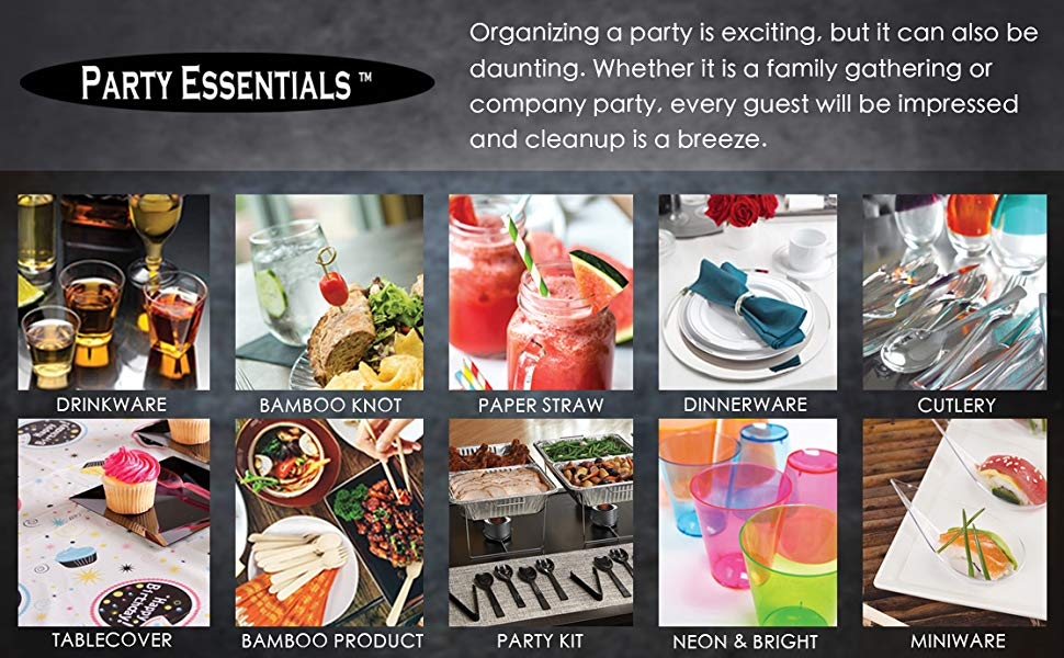 All your disposable party needs
