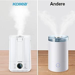 3.5L Digitaler Luftbefeuchter Humidifier Aroma Diffuser Intelligenter LCD Timing