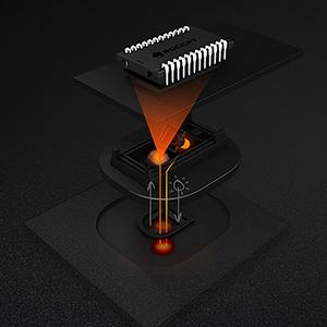 Kone Pure Owl-Eye 12000 dpi Optical Sensor RGB Gaming Mouse