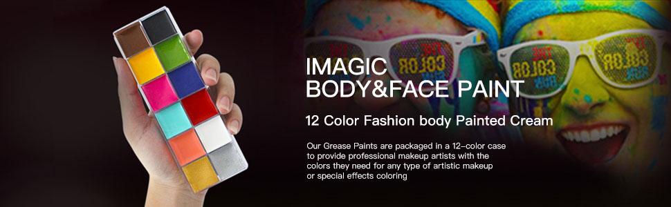 face body print