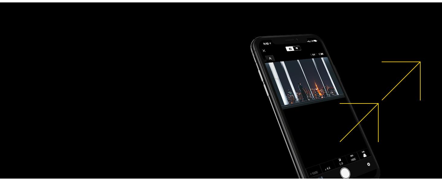 remote photography selfie snapbridge wifi wireless