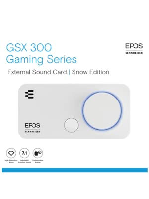 GSX 300 Snow Edition External Sound Card by EPOS