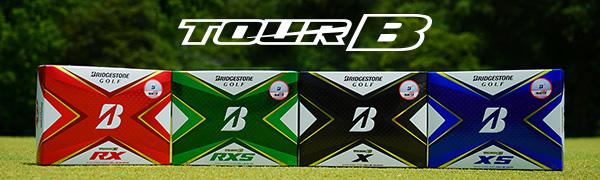 TOUR B series of golf balls