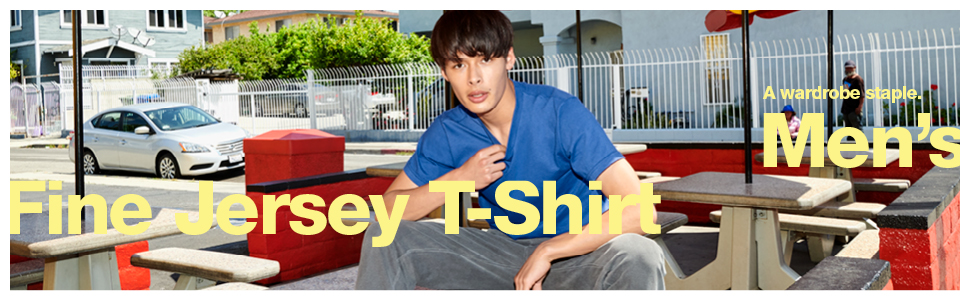 American Apparel, Men's Fine Jersey T-Shirt, wardrobe staple