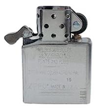 insert, lighter insert, refillable, reusable, windproof, bib, BIC, metal, customization, customize