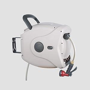 Amazon Com Gartenkraft Xw 40s Hose Reel 130 Feet Off Off White