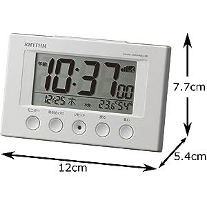 めざまし 小型 小さい デジタル セイコー シチズン おしゃれ 人気 温度 湿度 温湿度 カレンダー クロック 静か 六曜 電子音 かわいい おもしろ 寝る 起きる 朝 夜 枕 ふとん 1位 安