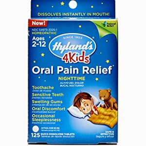hylands 4 kids nighttime oral pain relief