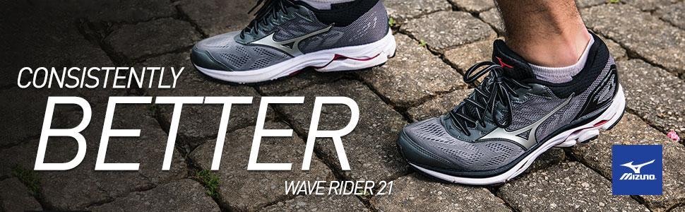 mizuno wave rider 21 men's size 11.5 uk