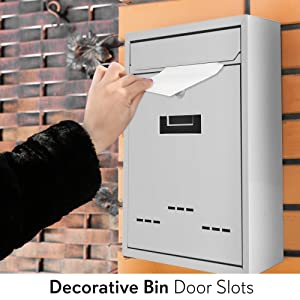 businesss envelopes;busines envelopes;blue mailbox with post;lock box;lock post;mail;box;serene;life