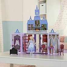 Castello, Frozen, Arendelle, Bambole, prodotto