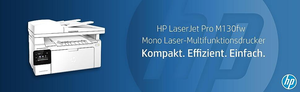 Hp Laserjet Pro M130fw Laserdrucker Multifunktionsgerät Computer Zubehör