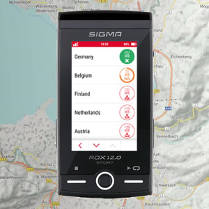 k.A Sigma Sport Soporte AVANZADO Butler II GPS Talla /única Ciclismo