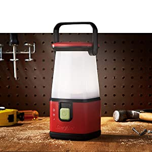 Brighten up your spaces with the uniform area light of Energizer Lanterns.