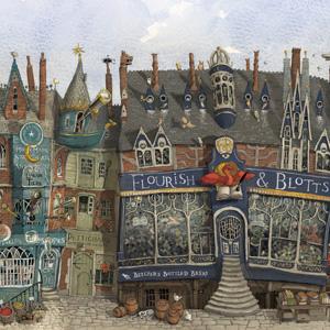 Harry Potter, Sorcerer's Stone, Diagon Alley