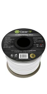 speaker wire in wall cl2