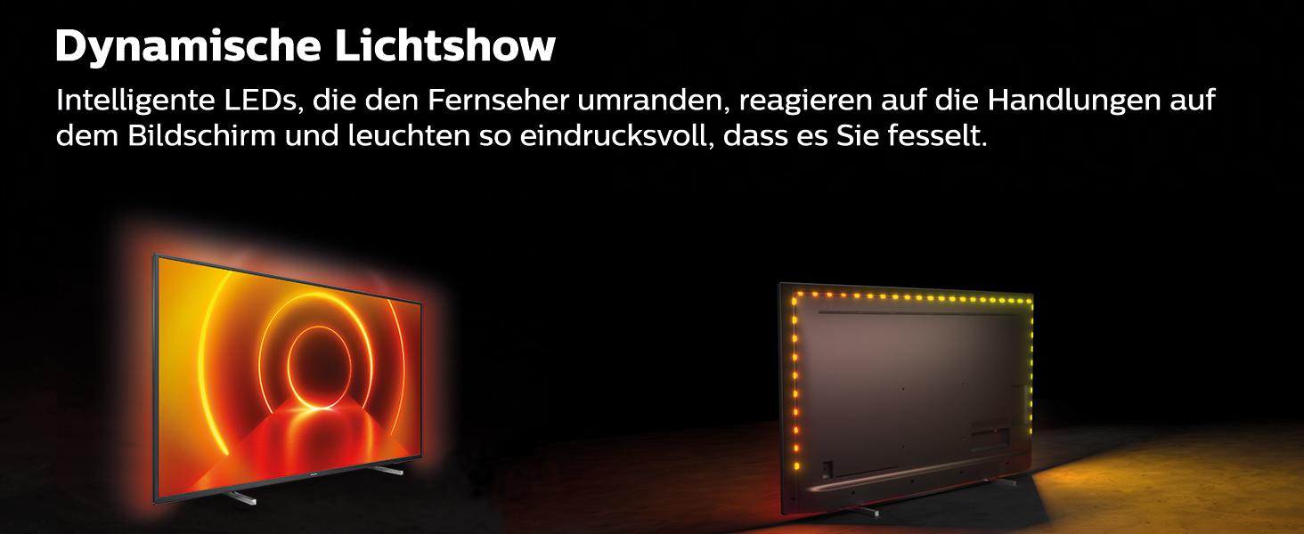 Philips 70PUS7805/12 70-Zoll Fernseher mit Ambilight und