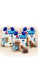 Weight loss drinks, Atkins, low carb, high protein, low sugar